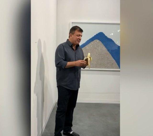 120 bin dolarlık sanat eserini yedi!