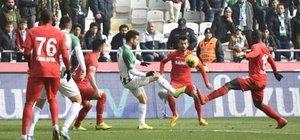 Konya'da sessiz maç