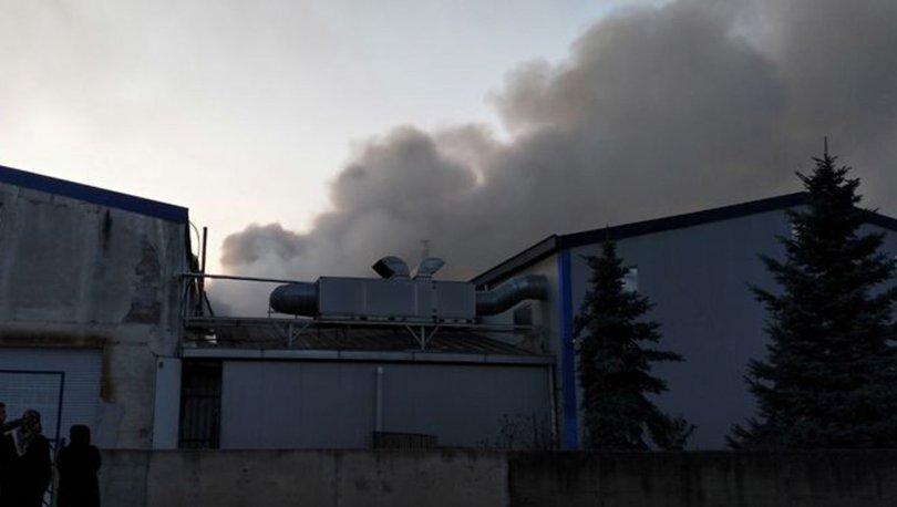 fabrika yangını
