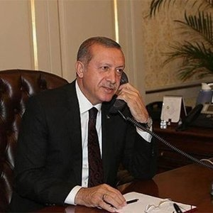 Erdoğan'dan, evladına kavuşan anneye telefon
