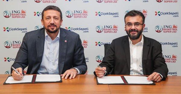 ÇiçekSepeti, ING Basketbol Süper Ligi'ne sponsor oldu