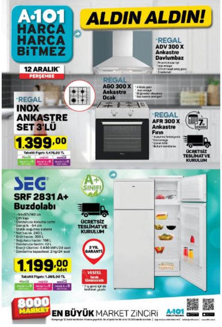 A101 12 Aralık 2019 aktüel ürünleri satışta! A101 bugün hangi ürünler indirimli olacak? İşte tam liste