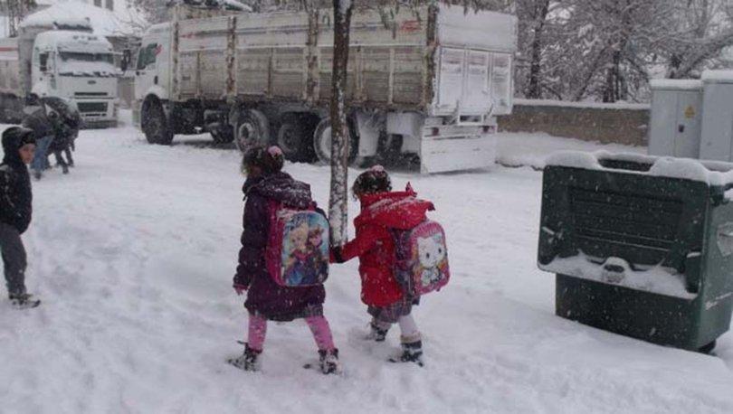Ankarada okullar tatil mi