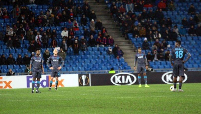 Basel Trabzonspor maçı