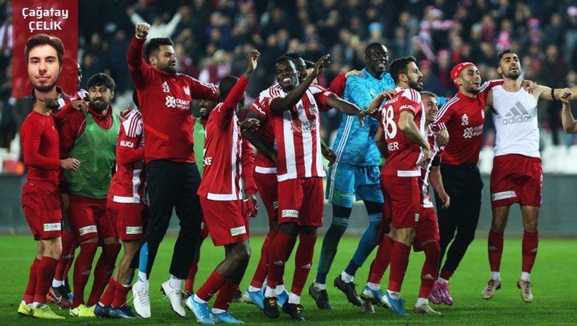 Sivasspor, tarihinde ilk kez üst üste 7 galibiyet aldı! Sivasspor Fenerbahçe