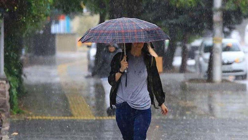SON DAKİKA HAVA DURUMU! Meteoroloji uyardı! 4 bölgede sağanak yağış!