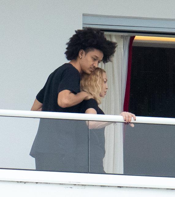 Madonna ile Ahlamalik Williams'ın samimi halleri - Magazin haberleri