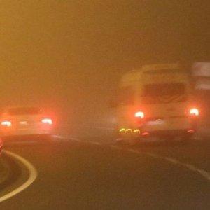 Şanlıurfa'da yoğun sis! 5 metreye kadar düştü