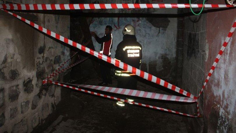 Sur'da tescilli bina göçtü, vatandaşlar paniğe kapıldı