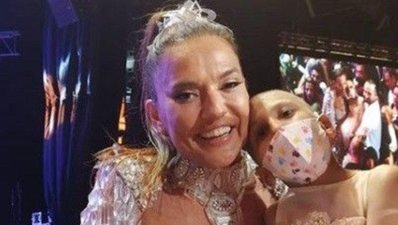 Löseminin güzel dansçısı Hicran Yıldız'a Demet Akalın'dan destek