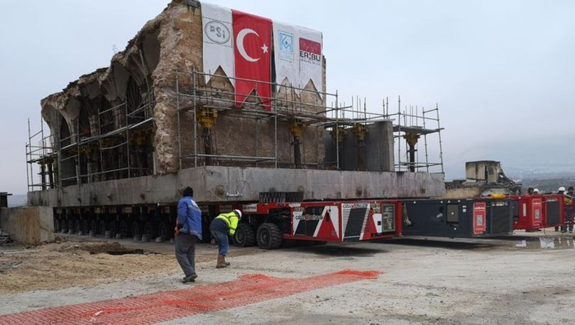 SON DAKİKA TAŞINIYOR! 12 bin yıllık ilçedeki son eser! Er-Rızk Camii taşınıyor!