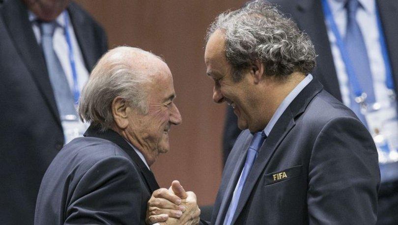 FIFA, Blatter'in Platini'ye verdiği 2 milyon İsviçre frangını istedi