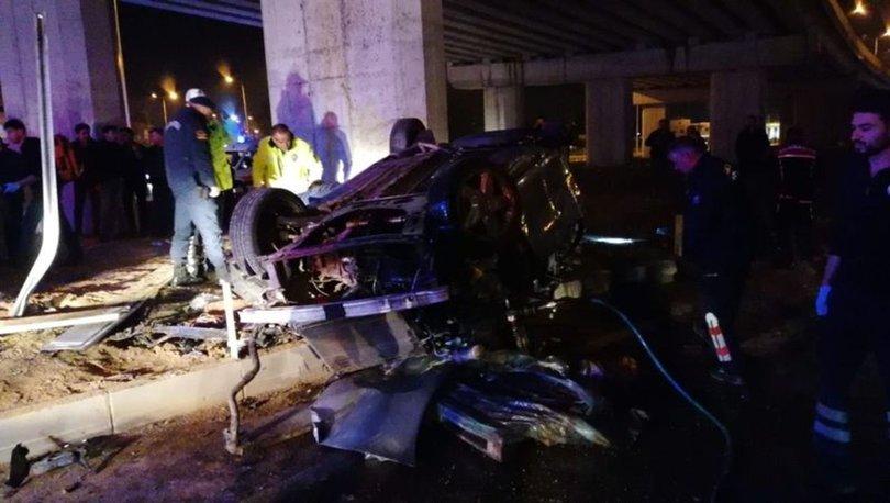 Antalya'da feci kaza! 3 ölü kişi öldü, 2 kişi yaralandı
