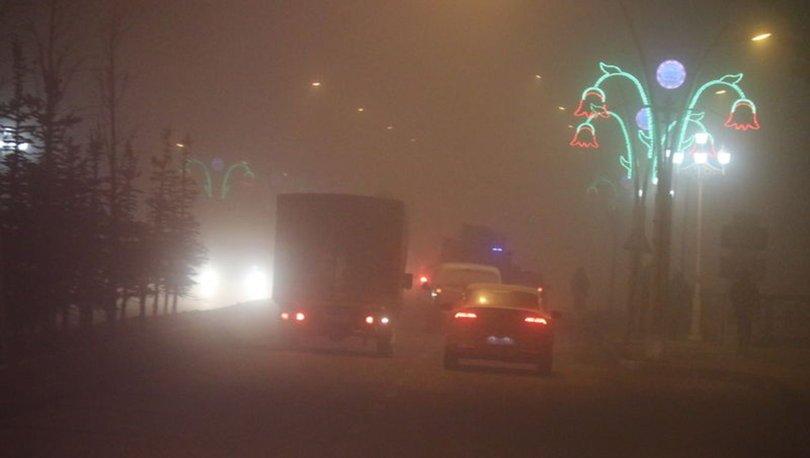 Ağrı ve Erzurum'da yoğun sis etkili oluyor