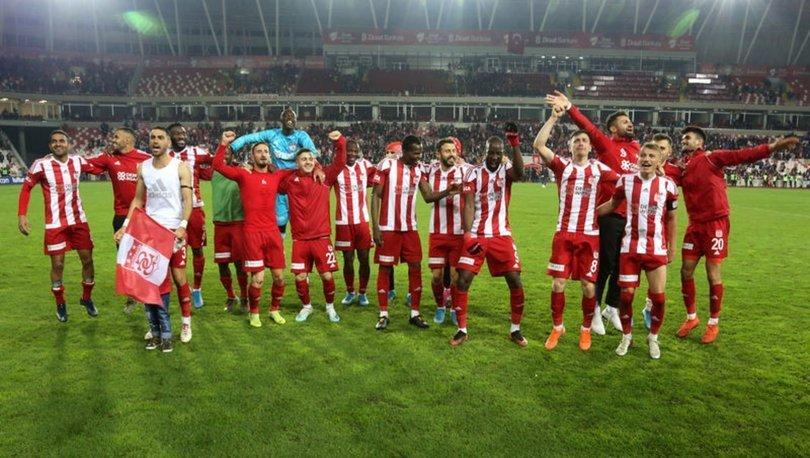 Sivasspor, 15. haftayı en karlı kapatan kulüp oldu!