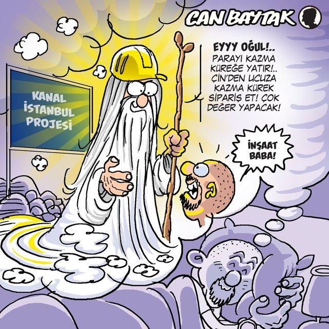 Can Baytak karikatürleri (Aralık 2019)