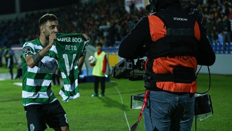 Medipol Başakşehir'in rakibi Sporting Lizbon, ligde 4 golle kazandı