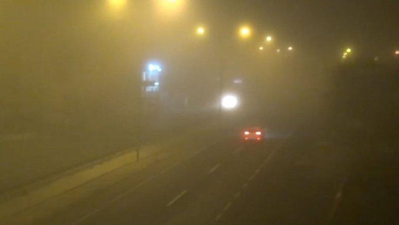 Silivri'de yoğun sis etkili oluyor