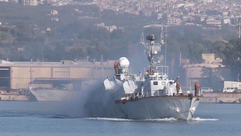 Rusya ve Suriye'den deniz tatbikatı
