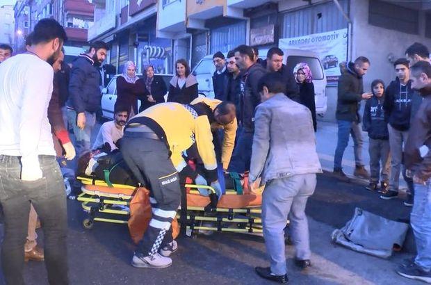 İstanbul'da feci kaza! Anne ile kıza çarptı!