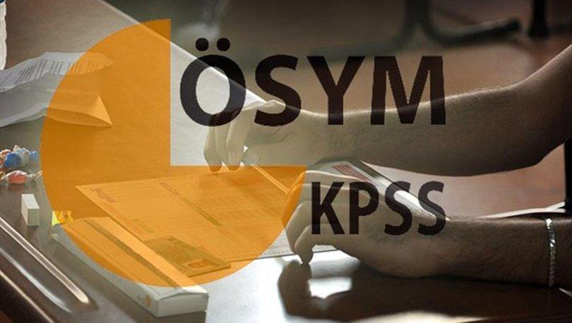 KPSS 2020 sınavı ne zaman? ÖSYM 2020 sınav takvimi açıklandı! İşte KPSS başvuru tarihleri
