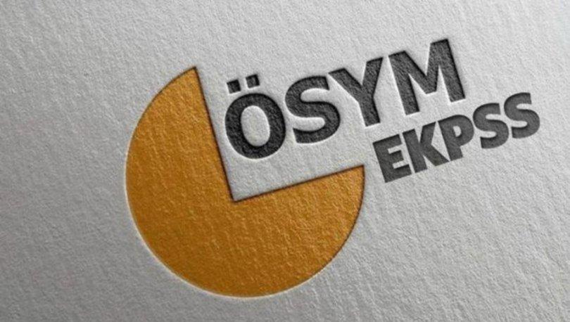 EKPSS 2020 sınavı ne zaman? ÖSYM 2020 sınav takvimi açıklandı! İşte EKPSS başvuru tarihleri