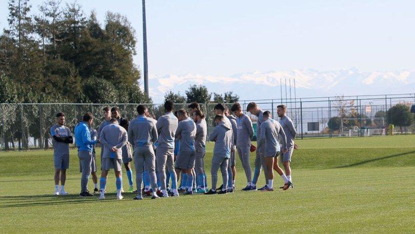 Trabzonspor, Altay maçı hazırlıklarına başladı