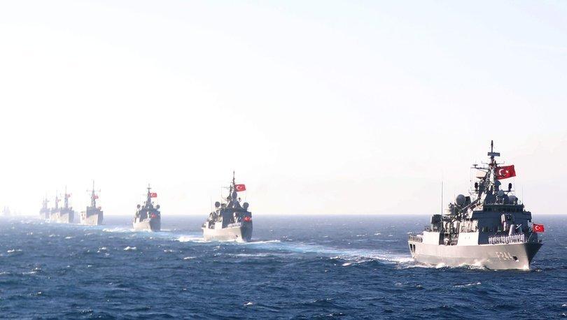 Deniz Kuvvetleri'nden Akdeniz'de 5 ikili eğitim