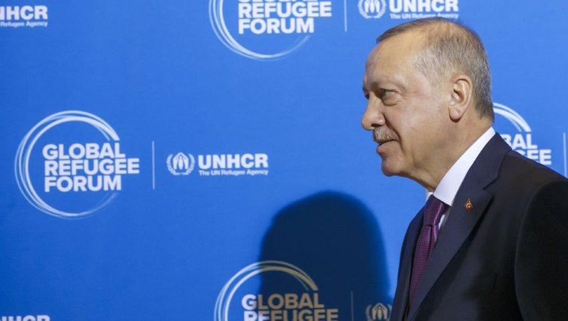 """Cumhurbaşkanı Erdoğan'dan liderlere """"Mülteciler İçin İş Birliği"""" kitabı"""