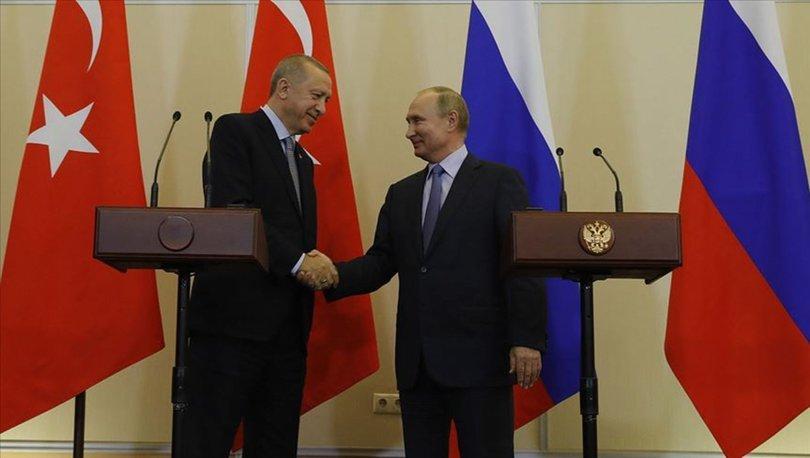 Son dakika... Cumhurbaşkanı Erdoğan, Rusya Devlet Başkanı Putin'le görüştü