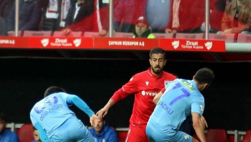 Çaykur Rizespor, Samsunspor'la berabere kaldı, son 16 turuna yükseldi