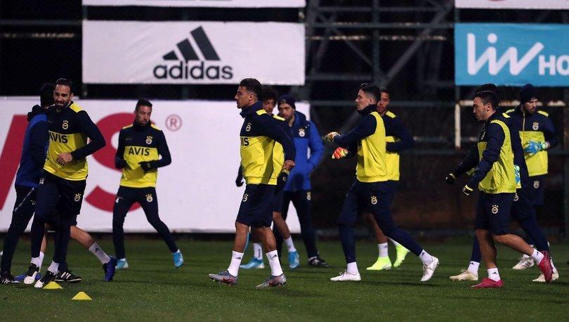 Fenerbahçe'de İstanbulspor maçı hazırlıkları