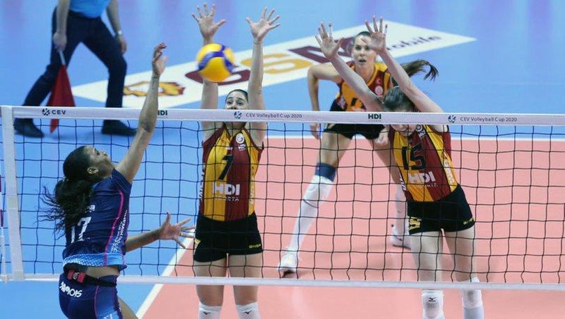 Galatasaray HDI Sigorta: 2 - Grupa Azoty Chemik: 3 | MAÇ SONUCU