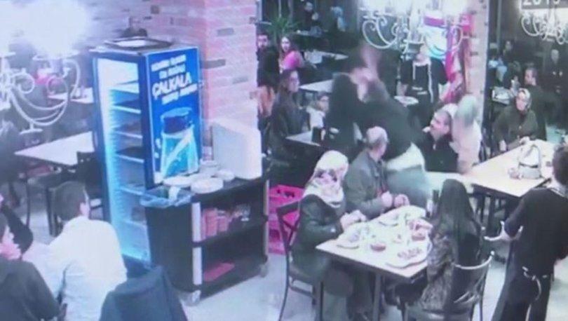 Garson, bebek sandalyesine çarptı, ortalık karıştı