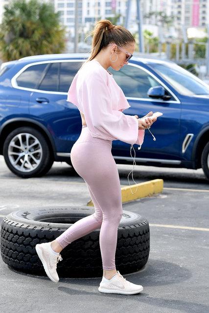 Sportif Jennifer Lopez - Magazin haberleri