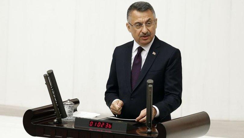 Fuat Oktay'dan Doğu Akdeniz açıklaması