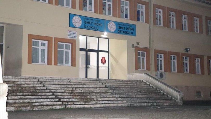 Okul kantininde pide ve lahmacun yiyen 18 öğrenci zehirlendi