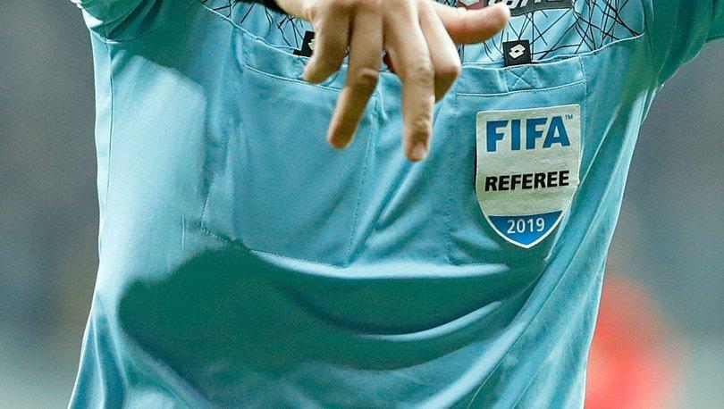 FIFA kokartı takacak hakemler açıklandı