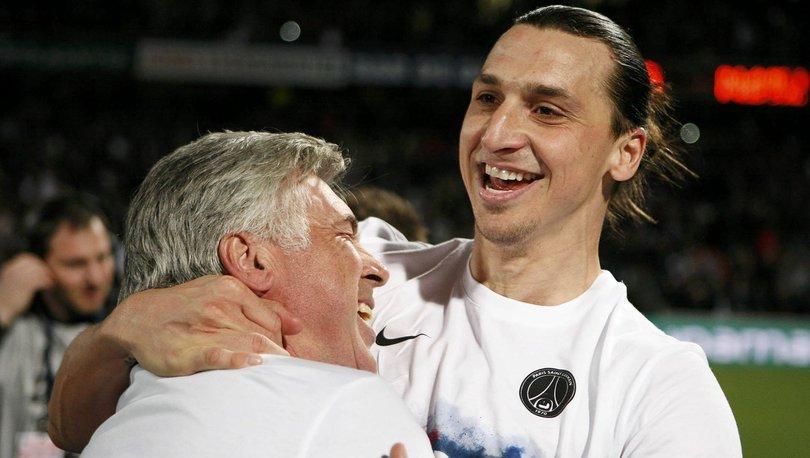 Ibrahimovic ve Ancelotti