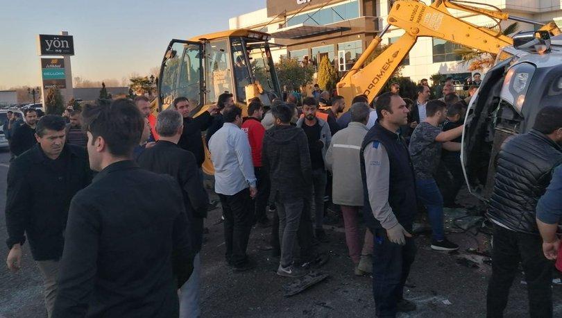 Samsun'da öğrenci servisi devrildi 2'si ağır, 15 yaralı