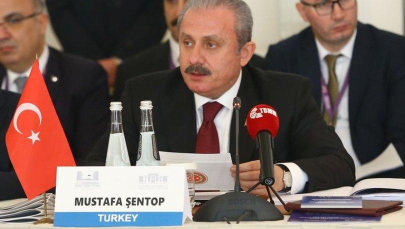 TBMM Başkanı Mustafa Şentop'tan terörle mücadele açıklaması