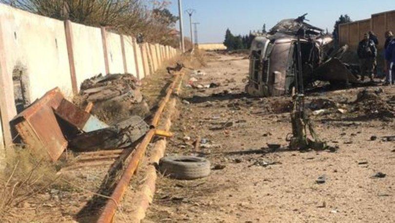 Barış Pınarı Bölgesi'nde patlama: 2 ölü, 3 yaralı