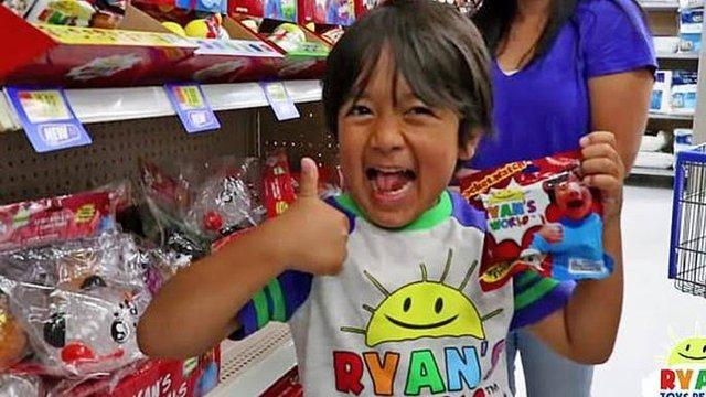 YouTube'un en çok kazananı 8 yaşında! - Haberler