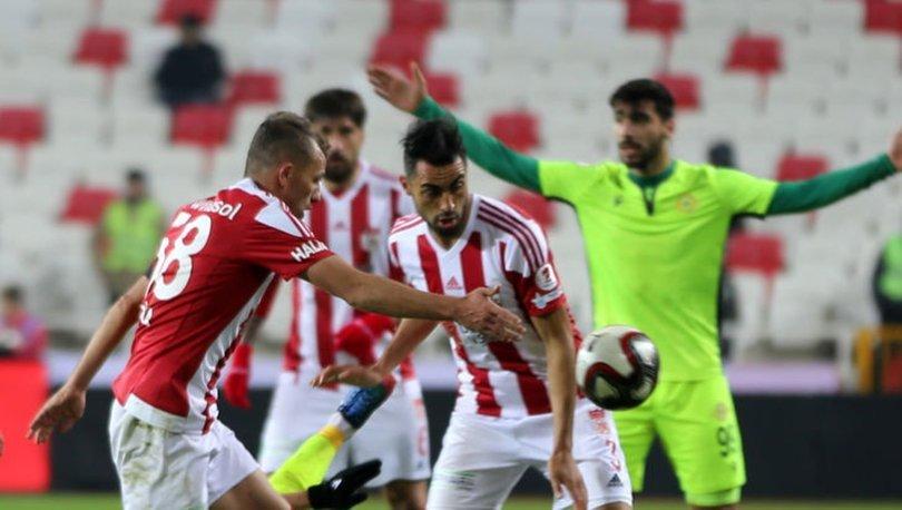 Demir Grup Sivasspor: 0 - Esenler Erokspor: 1 | MAÇ SONUCU