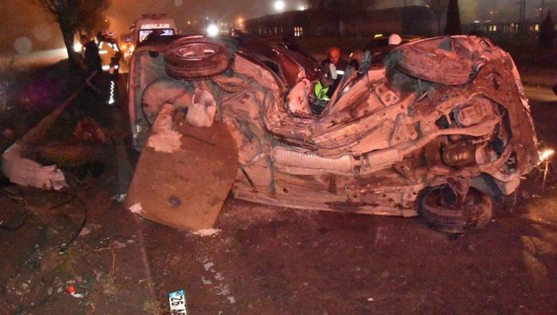 Eskişehir'de feci kaza: 1 ölü