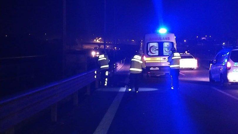 İstanbul'da kaza... Düşen plakayı almak isterken canından oldu