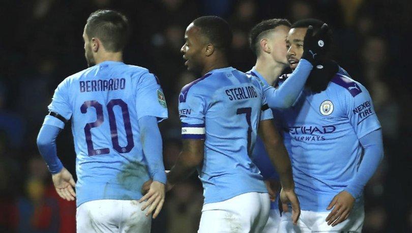 Manchester City, Lig Kupası'nda yarı finalde! Oxford United - Manchester City maç SONUCU ve ÖZETİ
