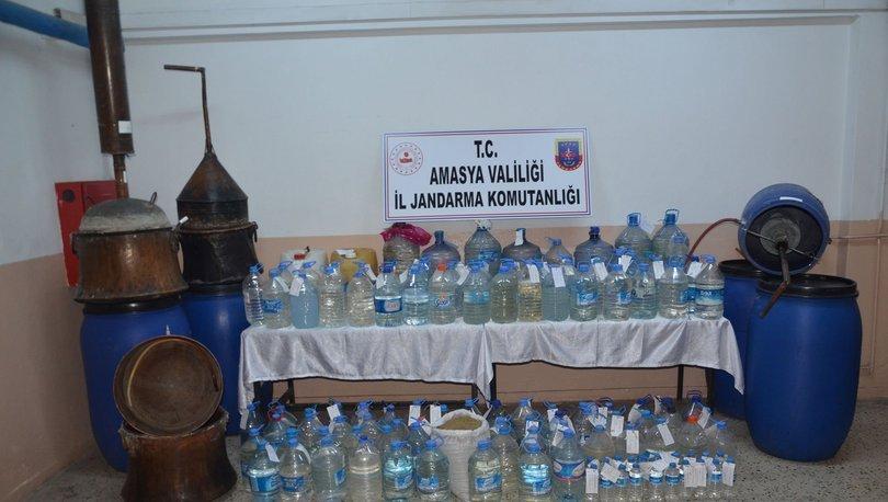 Yeni yıl öncesi köylere sahte içki düzeneği kurmuşlar