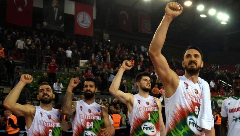 Pınar Karşıyaka FIBA Avrupa Kupası'nda liderliğini sürdürdü
