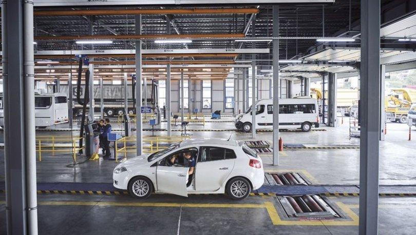Türkiye'de bu yıl 9.4 milyon araç muayeneden geçti